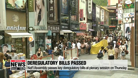 Nat'l Assembly passes key deregulatory bills at plenary session