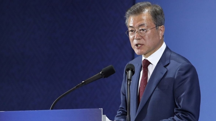 Presidential address on Pyeongyang summit: Pres. Moon says he had been assured by Kim on completely denuclearizing regime