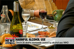 One in 20 deaths worldwide caused by alcohol use: WHO
