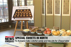 Chuseok delicacies in South and North Korea