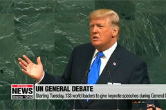 World leaders gathering for the UN General Assembly