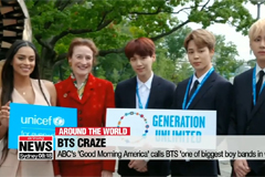 """BTS performs on """"Good Morning America""""... called 'one of the biggest boy bands in the world'"""