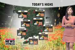 Temperatures to rise this  but sunny skies