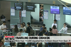 Number of traveling population in South Korea increased