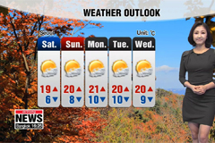 Chilly weather expected throug