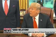 Trump says U.S. has good rel