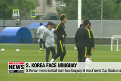 S. Korean men's football team looking to end winless streak against Uruguay