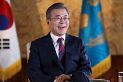 Pres. Moon says declaration to end Korean war