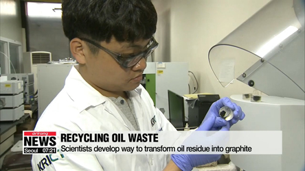 Local scientists find way to make synthetic graphite with petroleum waste
