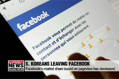 South Koreans leaving Facebook