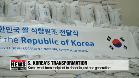 S. Korea provides real-life example of how 'Zero Hunger' can become reality