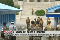 N. Korea releases S. Korean man arrested in Sept. for illegal entry