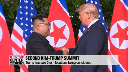 Trump says next summit with Kim will happen after mid-term elections, not in U.S.