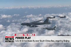 U.S. B-52 bombers fly over South China Sea, angering Beijing
