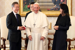 Pope Francis expresses willingness to visit North Korea if officially invited