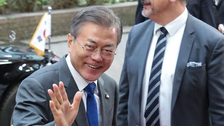 Pres. Moon shares vision for peace and prosperity in Northeast Asia and beyond