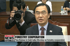 Two Koreas to hold talks on forestry cooperation Monday