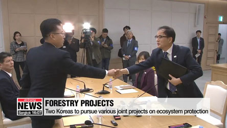 South and North Korea agree modernize 10 tree nurseries in North, jointly combat tree diseases