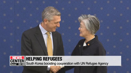 South Korea boosting cooperation with UN Refugee Agency