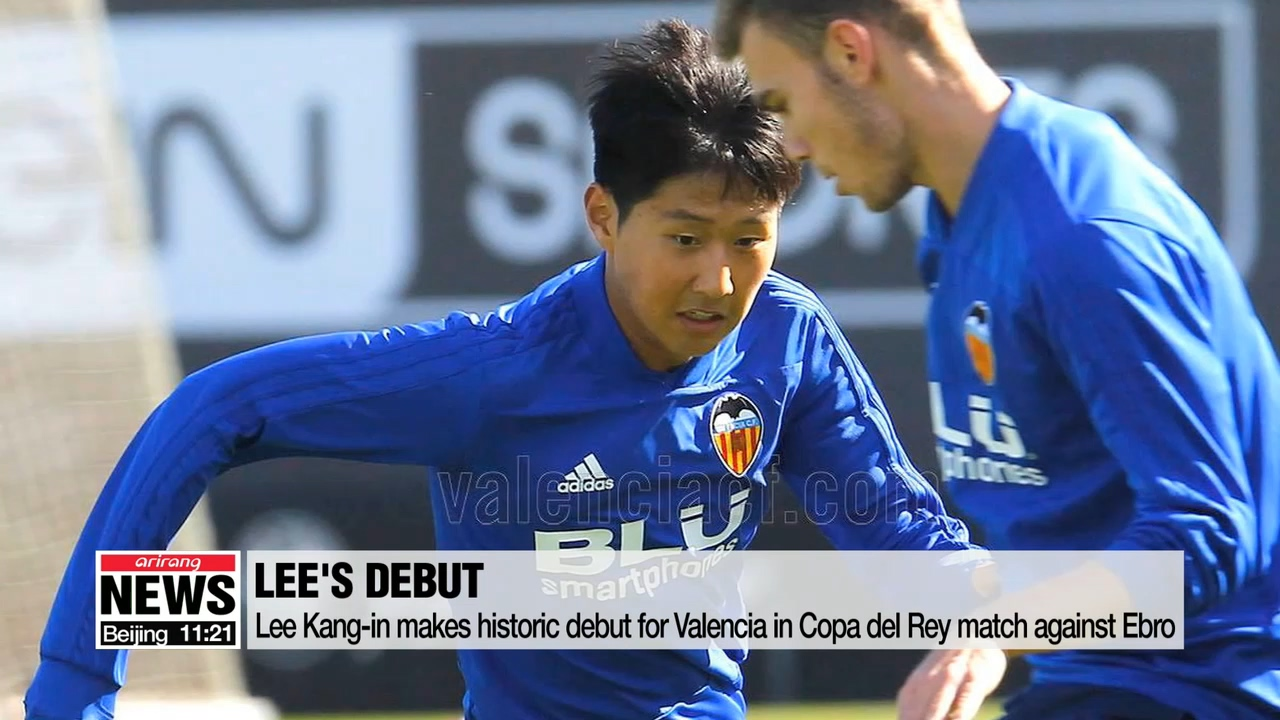 Lee Kang-in becomes first Asian footballer to play for Valencia's first team