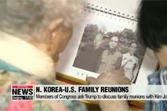 Congressmen ask Trump to discuss family reunions with Chairman Kim at summit