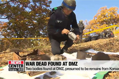 S. Korea finds two more sets of remains at DMZ