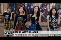 K-pop fever in Japan; BTS and Twice top Oricon charts