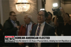 Korean-American Andy Kim elected to U.S. House of Representatives, but Young Kim still waiting for result