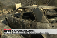 Death toll rises to 56 in California's deadliest wildfire