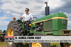 N. Koreans visited Canadian farms in past June and July