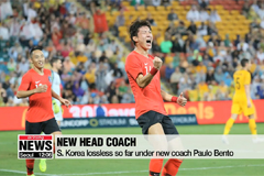 S. Korea, Australia play to 1-1 draw in football friendly