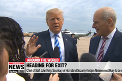 Trump hints at changing as many as five Cabinet positions
