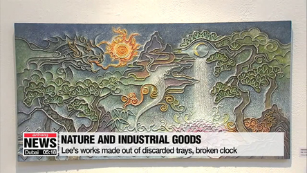 Local artists take eco-friendly approach, upcycle waste into art