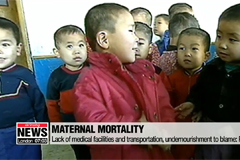 Maternal, child health in N. Korea critical due to lack of infrastructure, dire nutrition