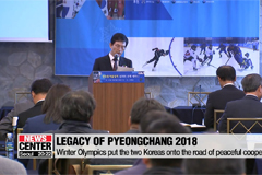 Legacy of PyeongChang 2018 has brought the two Koreas to the road of peace cooperation
