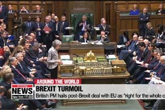 British PM's post-Brexit deal with EU faces strong resistance from UK lawmakers