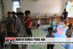 Int'l sanctions remain a major constraint on supply chain for North Korea food aid: WFP