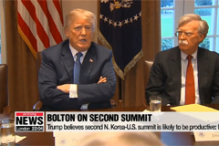 Trump believes second N. Korea-U.S. summit is likely to be productive: Bolton