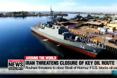 Iran's Rouhani threatens to close Strait of Hormuz if U.S. blocks oil exports