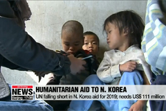 UN falling short in N. Korea aid for 2019; needs US$ 111 million
