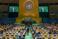 UN General Assembly adopts 3 resolutions urging North Korea's denuclearization