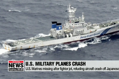 U.S. Marines missing after two military aircrafts crash off Japan coast