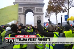 France boosts security for new 'yellow vest' protests despite fuel tax reversal