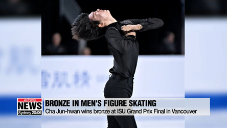Cha Jun-hwan wins bronze at ISU Grand Prix Final in Vancouver