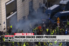 "Macron to address nation after fourth weekend of violent ""yellow vest"" movement"