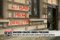 Macron to address nation after fourth weekend of violent