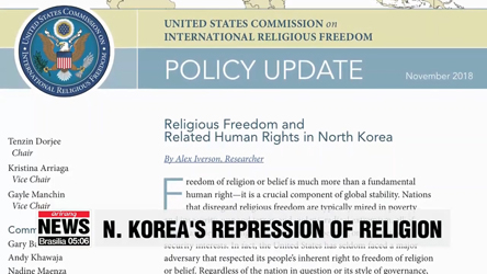 N. Korea's repression toward religion among the worst in the world