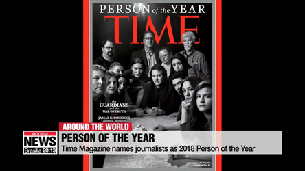 Time Magazine names journalists as 2018 Person of the Year