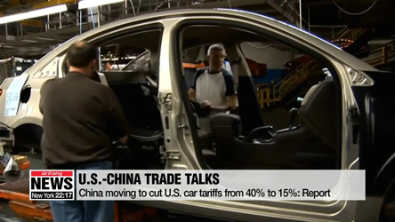 China moving to cut U.S. car tariffs: report