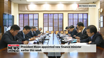[ISSUE TALK] President Moon revamps economic team ahead of third year in office